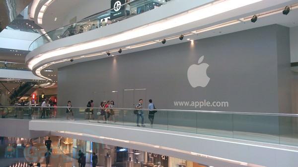 Новый Apple Store откроется 29 сентября в Гонконге