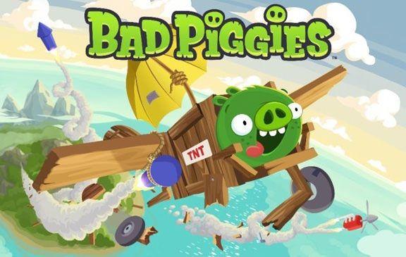 27 сентября релиз Bad Piggies – полной противоположности Angry Birds от Rovio