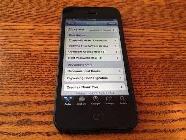 iPhone 5 взломан! Хакер Chpwn получил джейлбрейк iOS 6 на новом смартфоне Apple