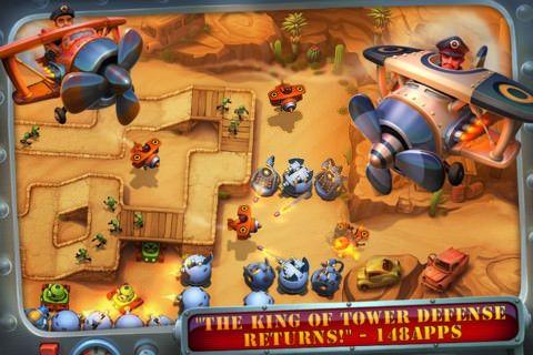 Скачать Fieldrunners 2 для iPhone, iPod и iPad [AppStore / Обзор / Скачать]