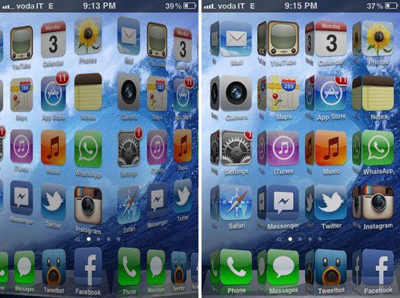 Твик из Cydia Funboard добавит анимационные эффекты на главном экране iPhone или IPad