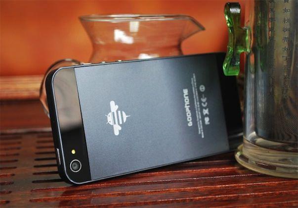 Китайцы запатентовали дизайн GooPhone i5 - копию iPhone 5