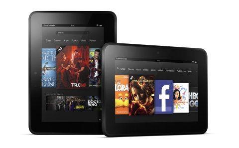 Amazon выпустила два новых планшета: Kindle Paperwhite и Kindle Fire HD