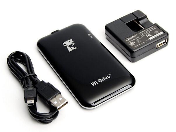 Kingston Wi-Drive увеличит количество памяти на Вашем iPhone, IPad или iPod Touch