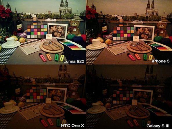 Сравнение качества съемки при низкой освещенности между iPhone 5, Nokia Lumia 920, Nokia 808 pureview, HTC One X, Samsung Galaxy S III