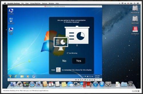 Parallels Desktop 8 доступен для скачивания владельцам Mac OS X