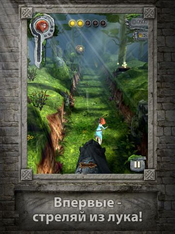 Скачать Temple Run: Brave (Храбрая Сердцем) в Free App Of The Week для iPhone и IPad