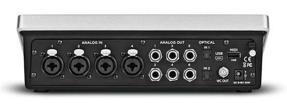 Apogee представила аудио интерфейс Quartet для Mac