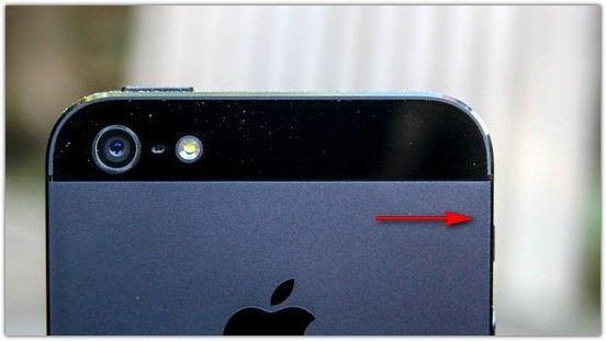 У iPhone 5 черного цвета слезает покрытие