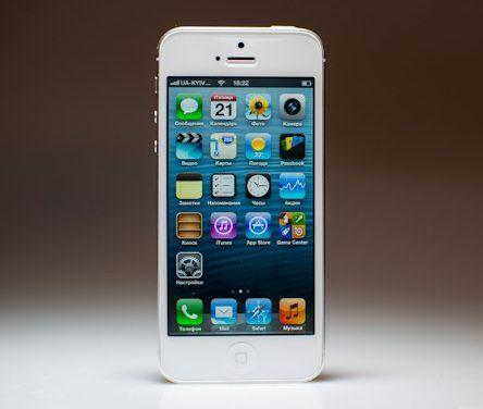 Первые сведения о неполадках в работе дисплея в iPhone 5