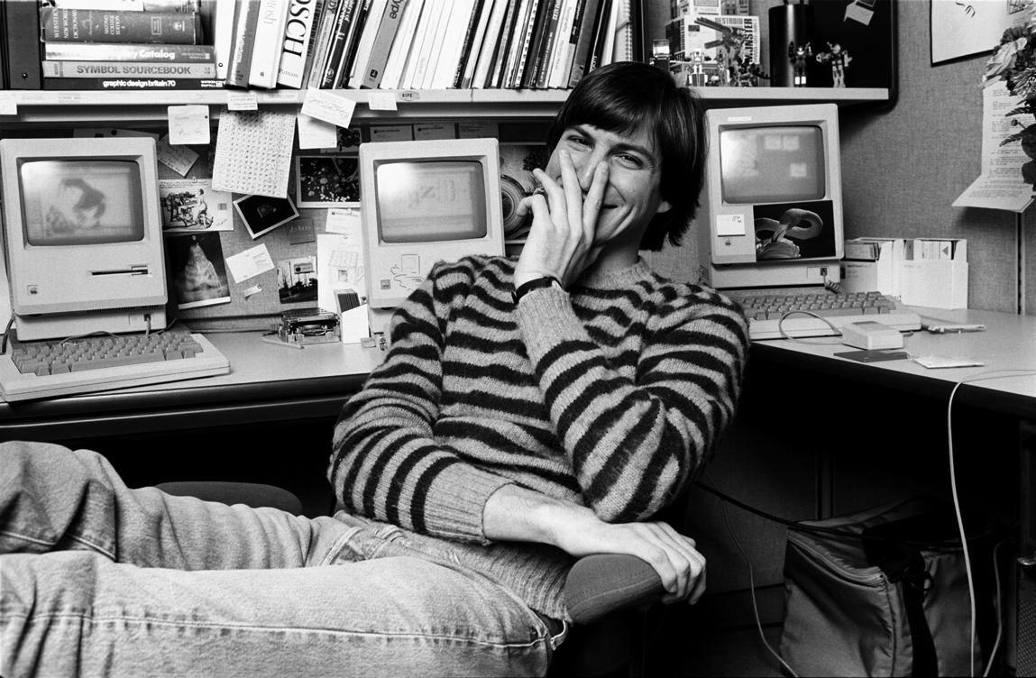 Стив Джобс - неизвестные фотографии 1984 года