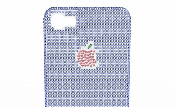 Украшенный драгоценностями чехол для iPhone 5 за 0 000