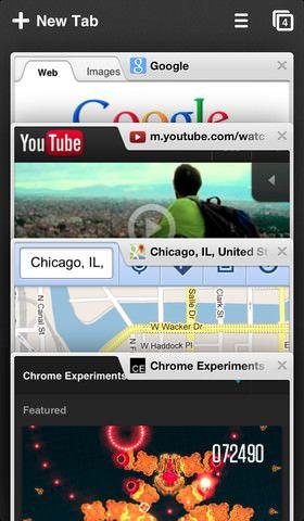 Скачать Chrome для iPhone 5