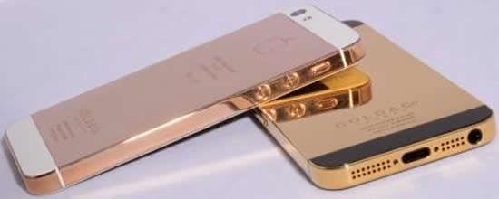 В сети появились фото золотого iPhone 5
