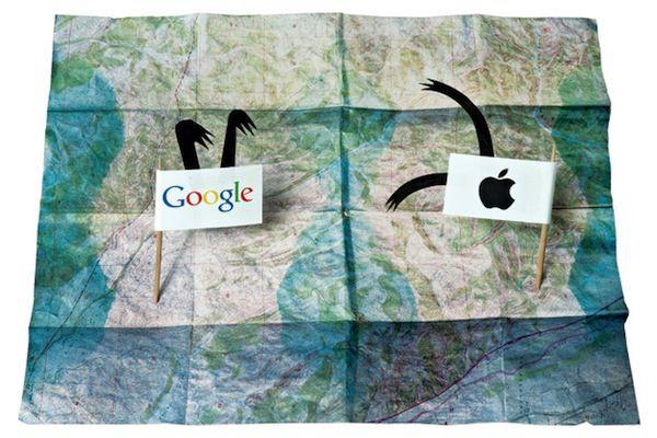 Google советует пользователям iPhone 5 отказаться от карт Apple в пользу Google Maps
