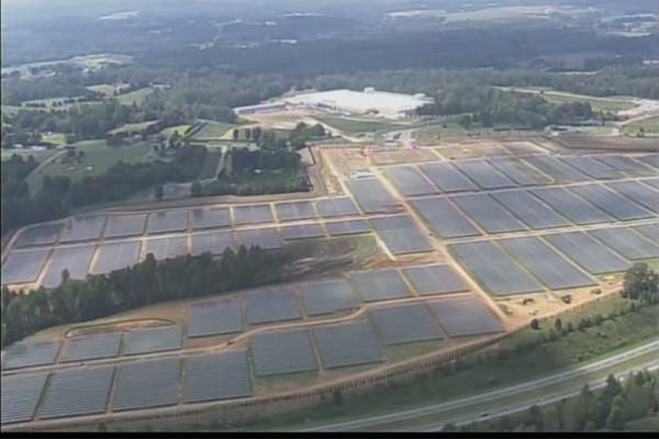 Apple потратила 0 млн. на покупку территории под новую солнечную электростанцию