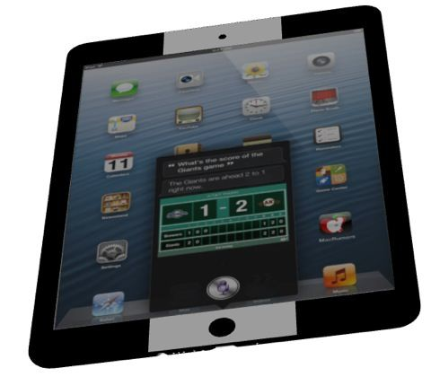 В сети появилась интерактивная 3D модель iPad mini