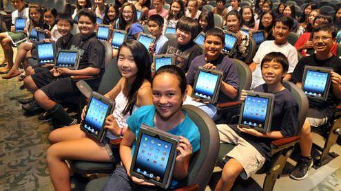 iPad полностью заменит ПК в сфере образования