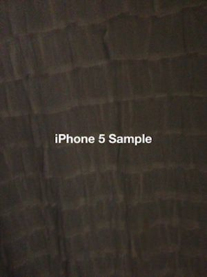 Разница в качестве фото между iPhone 4S и iPhone 5 в условиях низкой освещенности