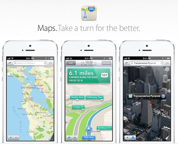 Новое в iOS 6 нового iPhone 5