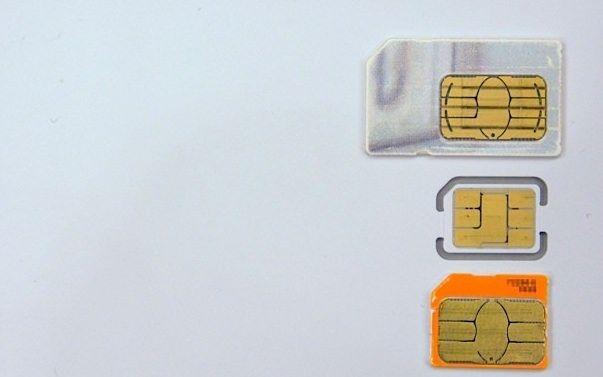 Micro-SIM несовместима с iPhone 5
