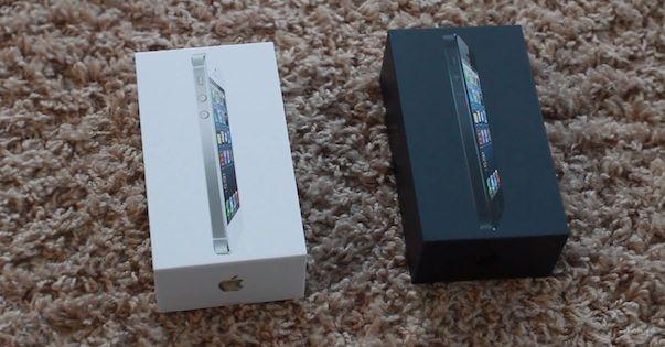 Видео распаковки белого и черного iPhone 5, а также тест скорости 4G (LTE)