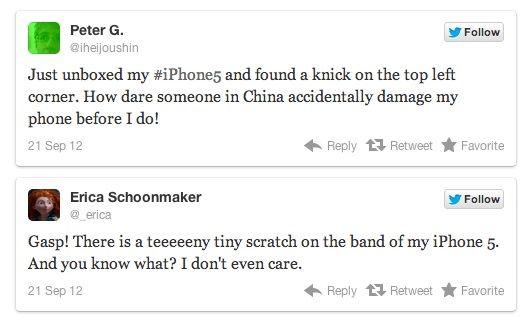 """Владельцы iPhone 5 сообщают о сколах и царапинах на новых устройствах """"прямо из коробки"""""""