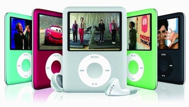 Эволюция iPod nano