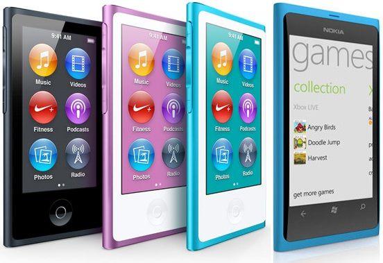 Новый iPod nano подозрительно похож на Lumia