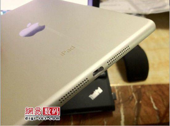 В сети появились фотографии задней панели iPad mini