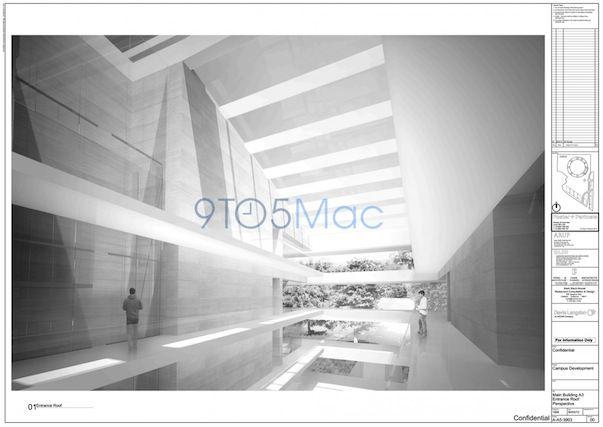 Новые изображения будущего Кампуса Apple указывают на удивительные подробности