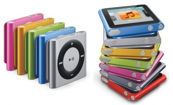 Обновленные плееры iPod будут представлены на презентации 12 сентября
