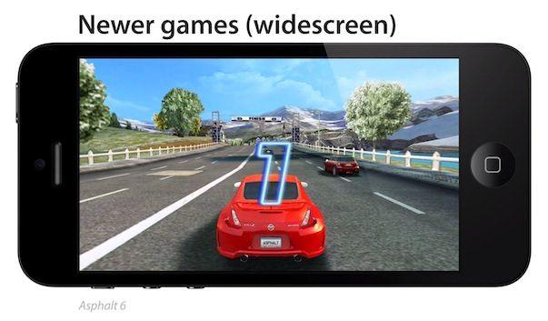 Видеосравнение экранов iPhone 4 и iPhone 5 в действии