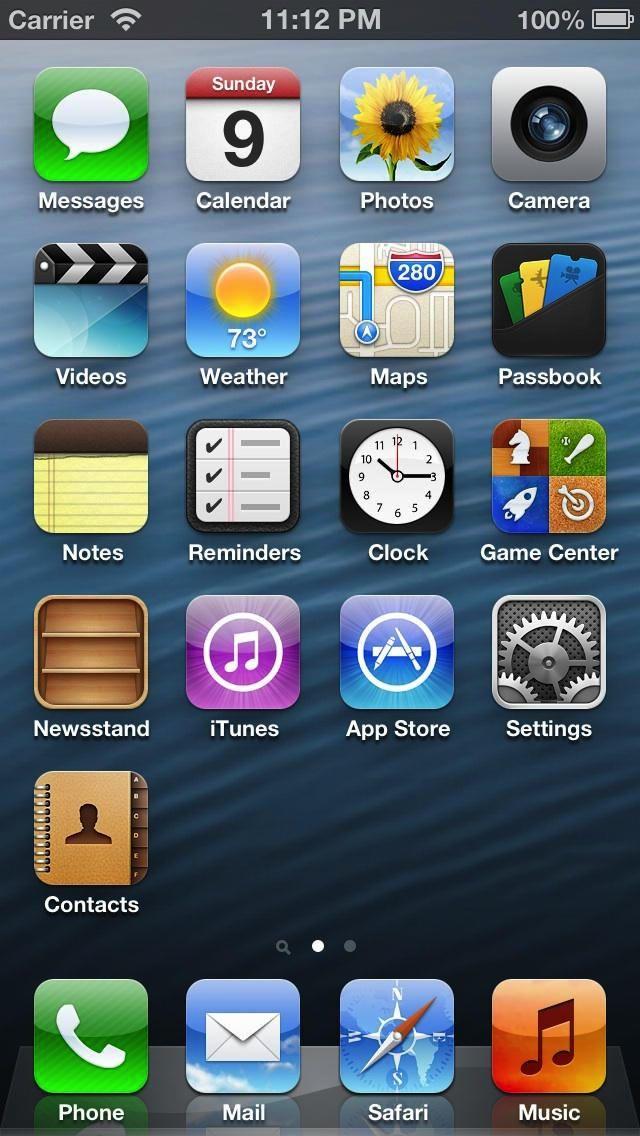 Как убрать все приложения с экрана на айфоне