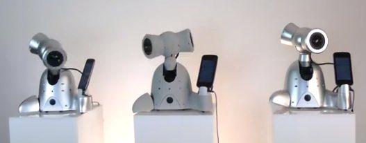 На конференции TechCrunch показали танцующего робота Shimi для iPod Touch и iPhone