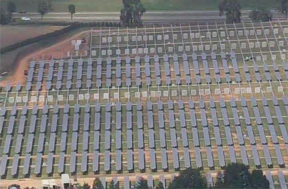 Солнечная электростанция Apple построена