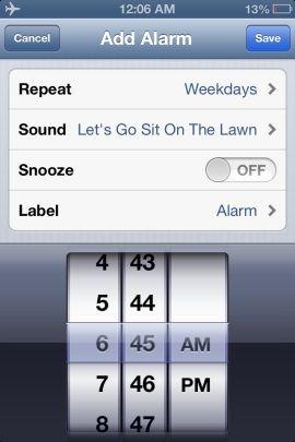 Как поставить песню в качестве будильника на iPhone или IPad