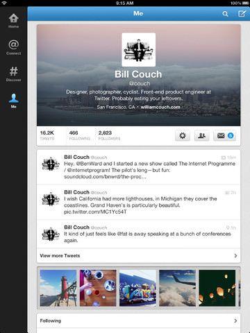 Скачать новый Twitter для iPad