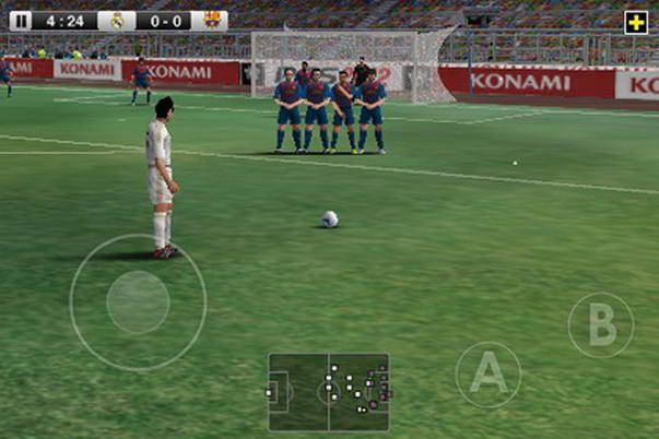 Скачать Pro Evolution Soccer 2012 для iPhone, IPad и iPod Touch