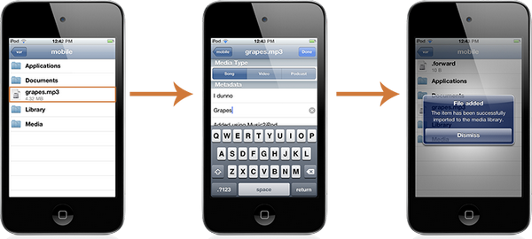 Music2iPod - импорт скачанной музыки в библиотеку iPhone, iPod Touch или IPad без помощи iTunes