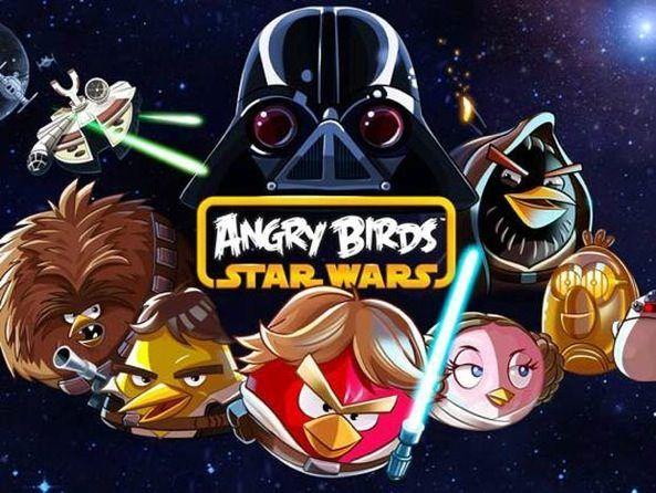 Очередная демонстрация геймплея Angry Birds Star Wars перед стартом 8 ноября