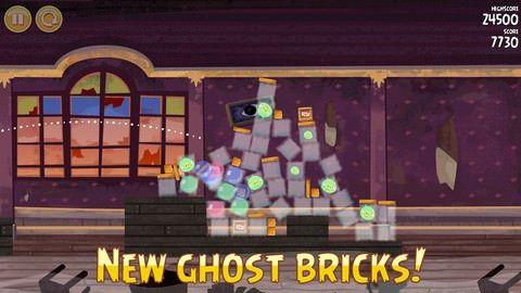 Вышло Хэллоуин-обновление для Angry Birds Seasons с 30 дополнительными уровнями