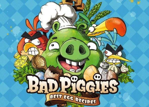 Вышла интерактивная книга рецептов приготовления яиц от создателей Angry Birds