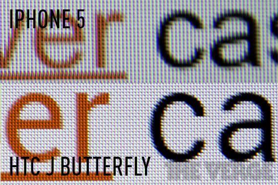 HTC J Butterfly - смартфон с лучшим дисплеем в мире