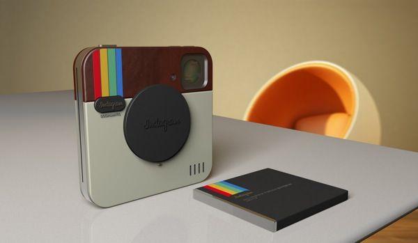 Instagram Socialmatic Camera - концепт, обреченный на воплощение в реальность