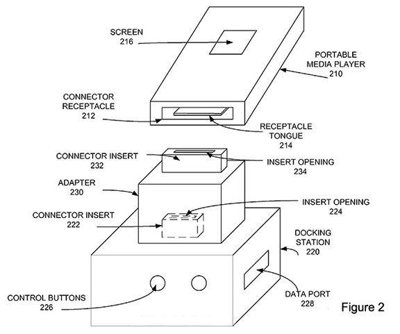 Apple запатентовала беспроводной переходник для Lightning