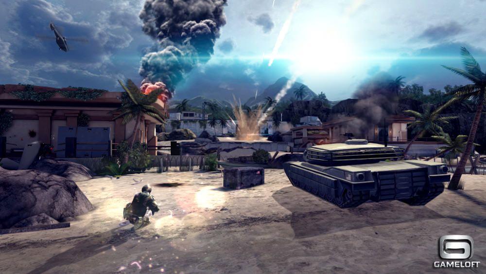 Трейлер Modern combat 4: Zero hour для iOS демонстрирует невероятную мобильную графику