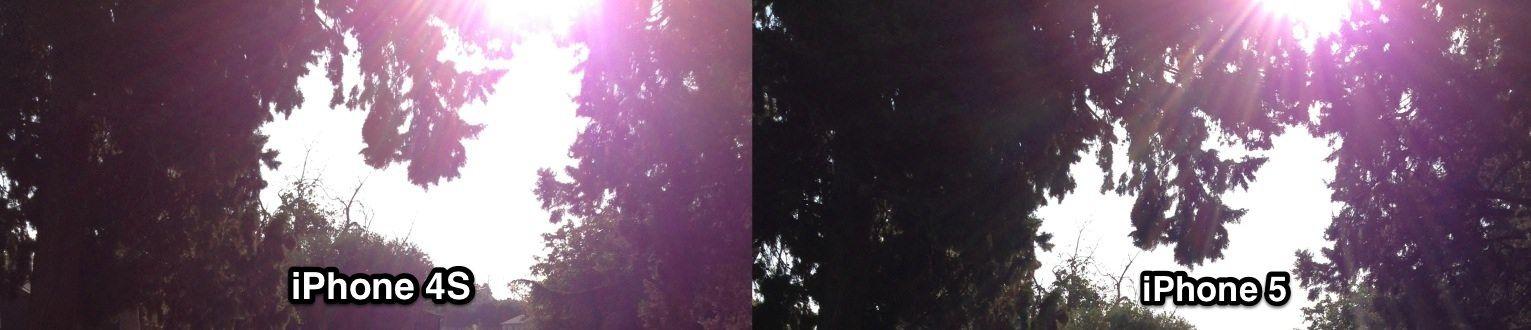 Apple публично отреагировала на жалобы относительно появления фиолетовых пятен на фотографиях, сделанных iPhone 5