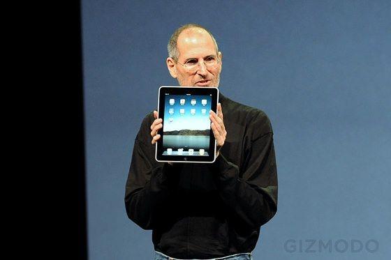 Опубликована запись Стива Джобса с предсказанием популярности iPad