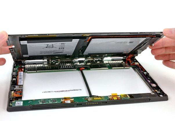 iFixit: Surface легче поддается ремонту, чем iPad 3
